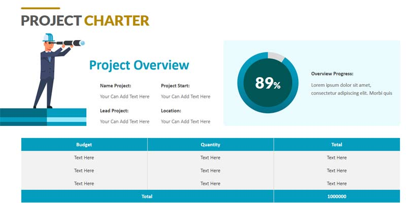 Project Charter Examples