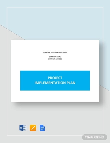Implementation Strategy Template
